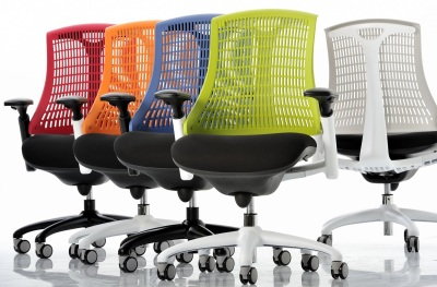 Hover to zoom ... & Ergonomic Chair Coloured Backs - Reactive - Online Reality