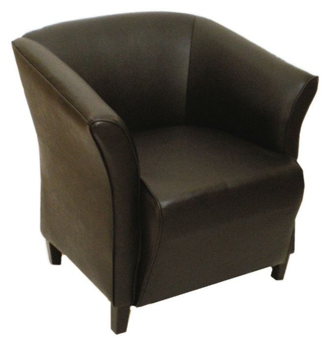 Leather Tub Chair Vinyl
