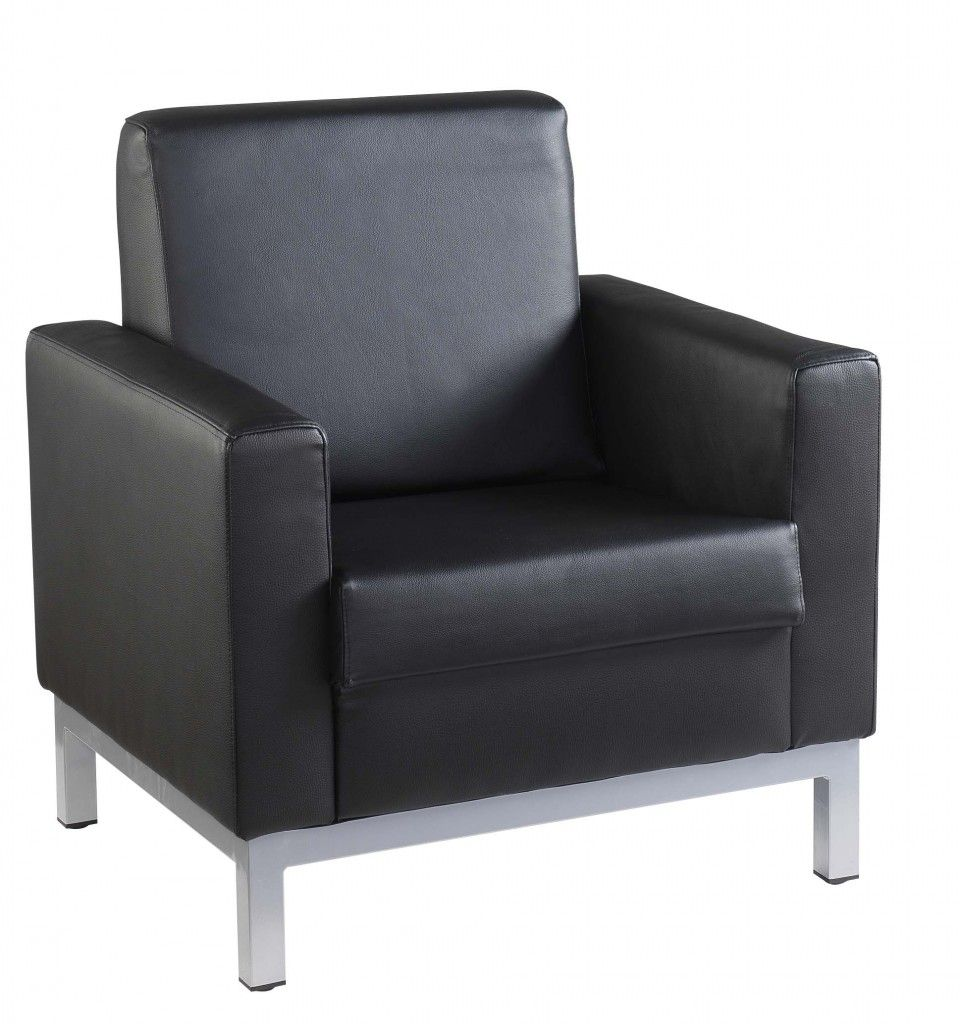 Black leather sofas strasbourg 1 seater sofa online for Leather sofa 7 seater