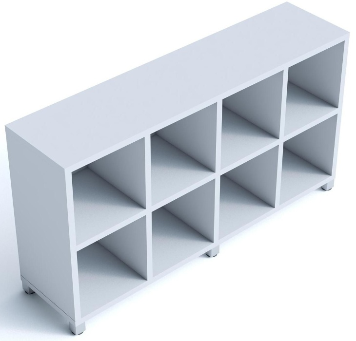 An image of Cubic 1 Open Bookshelves