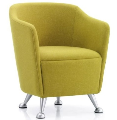 Compact Tub Chair - Solace - band 1 upholstery - Online Reality
