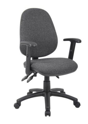 Grey Pricebuster Operator Chair With Arms