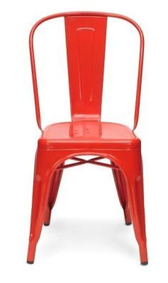 Xavier V2 Side Chair In Red