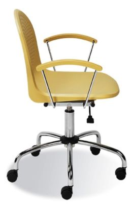 Amigo Swivel Operators Chair With Self Breaking Castors For Carpeted Floors