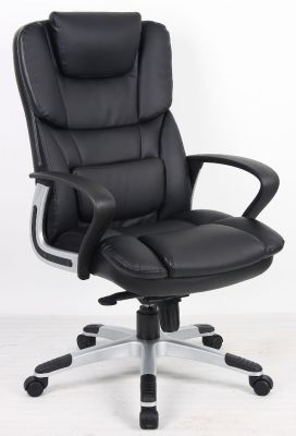High Quality Black Leather Executive Swivel Chair