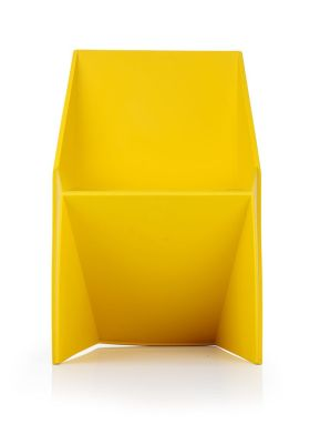 Dtragon Poly Chair In Yellow Facing