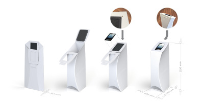 Flux Tablet Tower Folding
