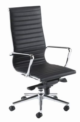high back executive chair black leather aria online reality