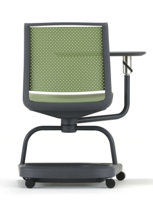 Adlib Chair In Green Rear Shot