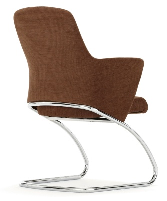 Rhapsody Executiove Upholstered Conference Chair Back Angle