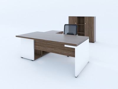 Mito Executive Desk And Storage Unit