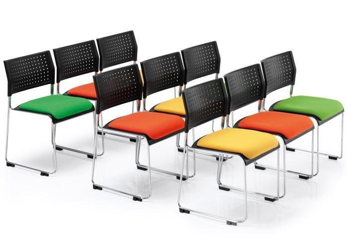 ... Meeting Room With Vica High Density Stacker Chairs With Upholstered  Seats In Different Colours ...
