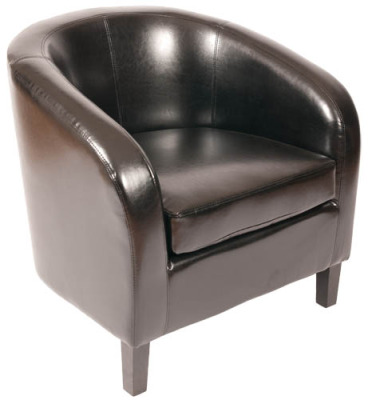 Norton Leather Tub Chair