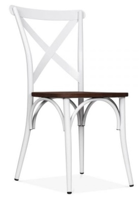 Metal Dining Chairs Crossback