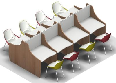 Offimat V2 Eight Person Study Booth