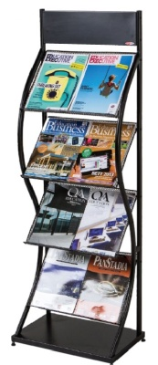 Wave Wide Leaflet Dispenser