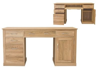 Hover To Zoom Warwick Double Pedestal Desk 4