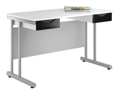 UCLIC Create Reflections Double Drawer Desk