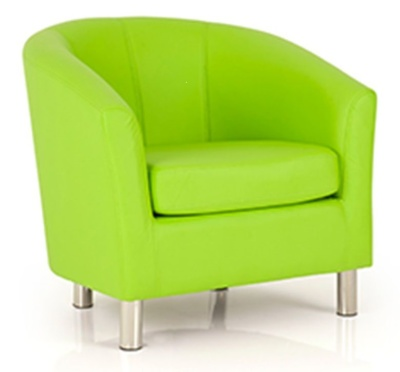 TYritium Tub Chair In Lime Green
