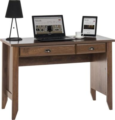 Sienna Oiled Oak Effect Lap Top Desk