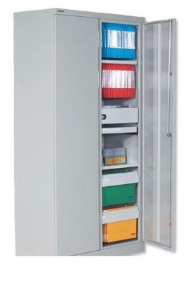 Hover To Zoom; Bisley Storage Cupboards 3