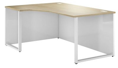 Duel Left Hand Corner Bench Desk