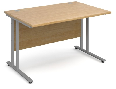 Momento Nexy Day Rectangular Desk Oak Finish