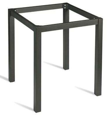 Hover To Zoom Roma Black Square Table Base