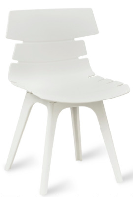 Foxton V8 Chair White Shell
