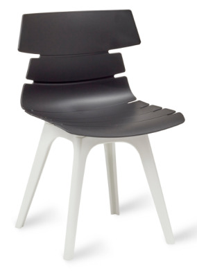 Foxton V8 Chair Black Shell