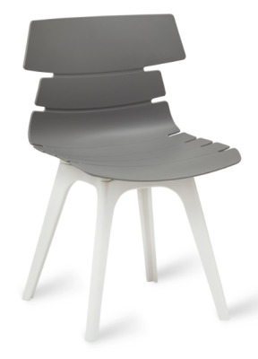 Foxton V8 Chair Grey Shell