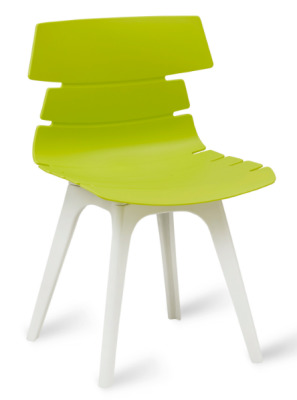 Foxton V8 Chair Lime Shell