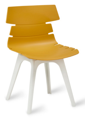 Foxton V8 Chair Mustard Shell