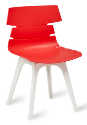 Foxton V8 Chair Red Shell