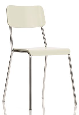 Kooler Bistro Chairs White Shell