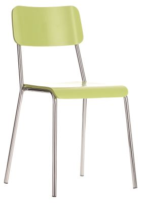 Kooler Bistro Chairs Lime Green Seat And Back