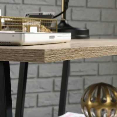 Loco Industrial Style Bench Desk Edge Detail