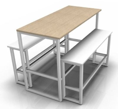 Otto Bar Height Bench Set