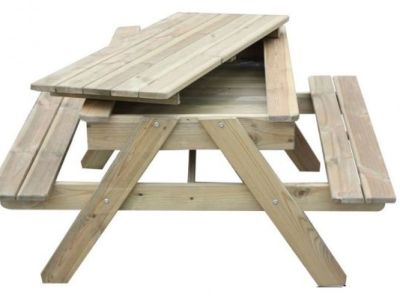 Phenomenal Jax Junior Sandpit Picnic Table Pabps2019 Chair Design Images Pabps2019Com