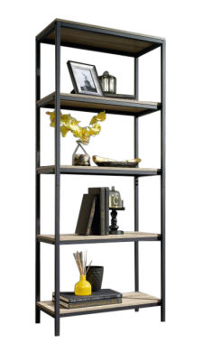 Loco Industrial Style Four Shelf Bookcase