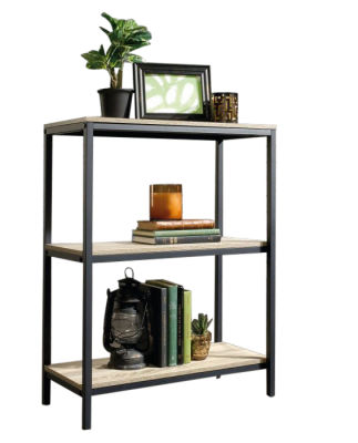 Loco Industrial Style Two Shelf Bookcase