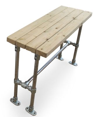 outdoor scaffold bar height bench 800mm square table online reality