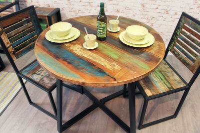 Seville Chic Round Dining Table