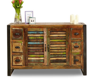 Seville Urban Chic 6 Drawer Sideboard