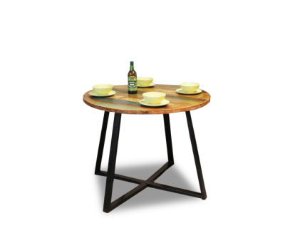 Seville Urban Chic Round Dining Table 1