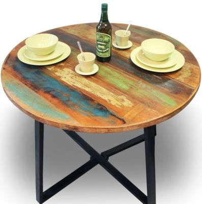 Seville Urban Chic Round Dining Table