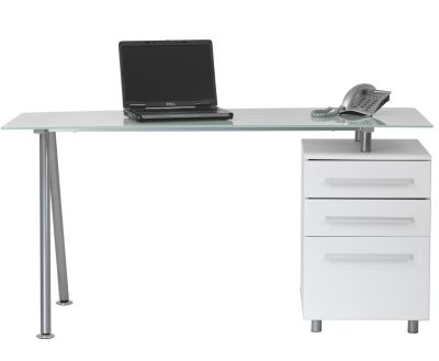 Cantalla Glass Desk