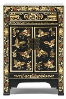 The Seven Schools Small Decorated Chinese Cabinet 2