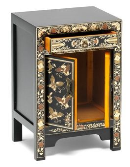 The Seven Schools Small Decorated Chinese Cabinet 3