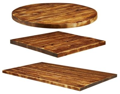 Rustic Aged Wood Table Tops Mm Round Online Reality - Rustic restaurant table tops